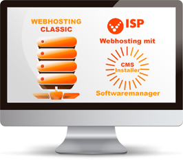 Webhosting mit CMS-Installer Softwaremanager